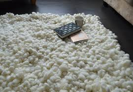 fluffy rug merino wool area rugs hand knotted carpet