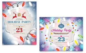 office party flyer office christmas party invitations that light up the holidays