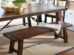 Rustic Farmhouse Dining Table With Bench Kitchen Magnificent Kitchen Tables For Small Spaces Rustic Farm