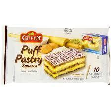 gefen kosher gefen puff pastry squares 10 ct seasonskosher online kosher