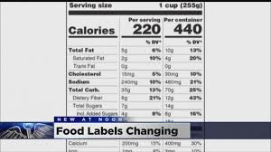 how many calories in a can of coors light nutrition facts labels get a makeover calories coors light 5