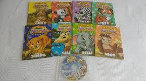 Famosos Livro Infantil - Planeta Animal Filhotes - Acompanha DVD/CD  #QB26