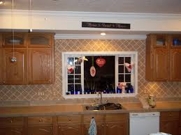 interior design gorgeous brick backsplash with kitchen rug and