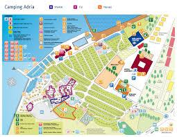 Adria Floor Plan Campsite Adria Slovenia Vacansoleil Ie