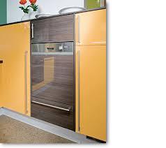 cuisine innovante cuisine fonctionnelle lave vaisselle intégrable dans colonne