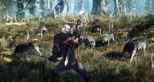 wild hunt witcher 3 werewolf the witcher 3 wild hunt seen at e3 2014 shacknews
