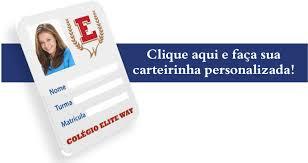 Imprima sua carteirinha do colégio Elite Way - Rebelde - Rede Record