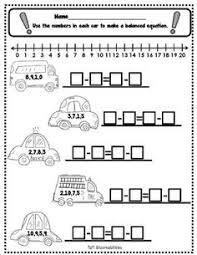 mrs t u0027s first grade class ant balance balanced equations