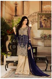 bridal dresses exclusive navy blue and beige dress g15477 exclusive online