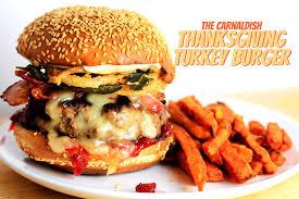 the carnaldish thanksgiving turkey burger carnaldish