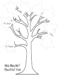 tree thanksgiving template u2013 festival collections