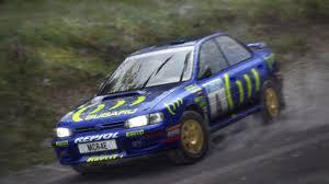 subaru rally racing dirt rally colin mcrae subaru impreza 1995 finland 000 motion