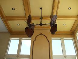 luxury drop coffered ceiling kits with unique ceiling fan design