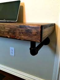 Pipe Desk Extra Thick Pipe Reclaimed Wood Desk Industrial Desk by This Is The Perfect Desk For The Person That Works From Home But