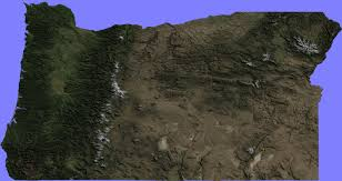 Oregon Google Maps by Terrain Maps Google Earth Library