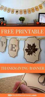 how to make a gorgeous thanksgiving banner thanksgiving banner