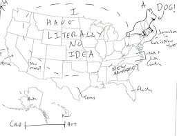 map of 50 us states with names 17 best brits naming states images on 50 states