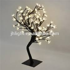 2015 indoor led wedding decorate tree led cherry blossom tree