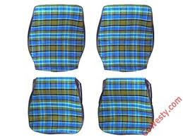 Seat Upholstery Custom Front Seat Upholstery Plaid U002774 U002779 Gowesty