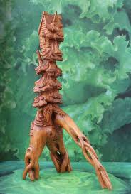 etsy wood 197 best etsy figurines images on tree carving carved