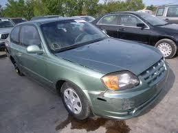 hyundai accent green hyundai accent 1 6l 4 green used of the 2004 at tx dallas