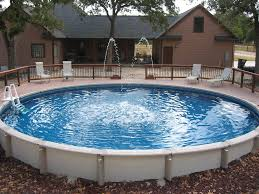 Inside Swimming Pool by Ideas About Above Ground Pool Landscaping Makeovers Round Swimming