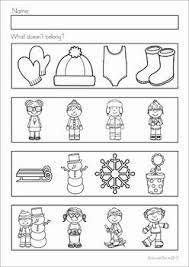 winter preschool worksheets free worksheets library download and