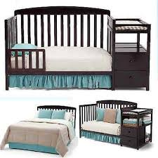 Toddler Changing Table Baby Bed Toddler Changing Table Crib Nursery Convertible Furniture