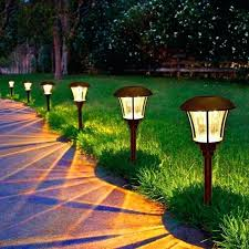 lowes solar powered landscape lights best solar powered landscape lights solar garden lights best solar