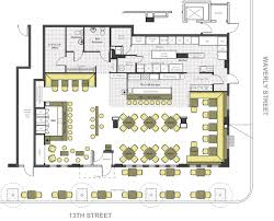 Kitchen Floor Plans Kitchen Restaurant Floor Plan Template Pdf Plans Examples Planner