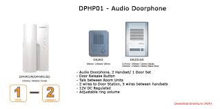 dphp01 1 to 2 audio intercom