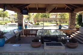 Outdoor Living Space Plans by Cabanas Outdoor Living Spaces Gallery Western Outdoor Design And