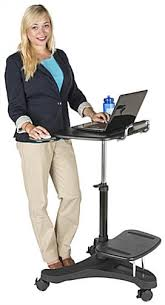 mobile adjustable laptop stands black and gray finish