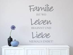 familie ist das wichtigste sprüche wandtattoo familie leben liebe wohnzimmer wandtattoo shop für