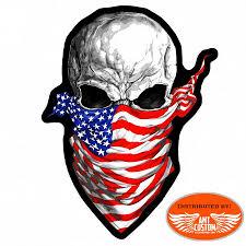biker jacket vest america rising skull us patch biker jacket vest amt custom shop