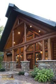 Luxury Log Home Plans 2450 Best Log Cabin Homes Images On Pinterest Log Cabins