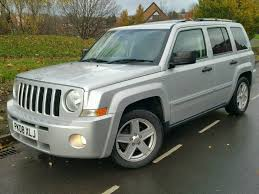 white jeep patriot back 2008 jeep patriot 2 0 crd limited edition fsh leather h seats suv