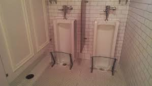 minimalist design of the luxury corporate office bathroom with