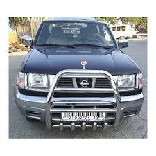 nissan pathfinder bull bar nipu 37 2254 56 nissan navara d22 pickup 98 02 front bull bar
