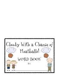 cloudy chance meatballs writing center kerri tpt