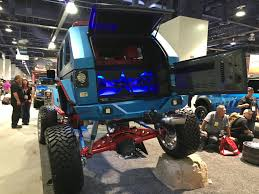 sema jeep 2016 jeeps assemble captain america wrangler the baddest of all the