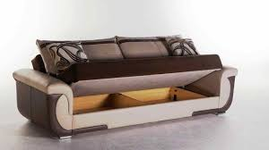 Sofa Bed Sectional With Storage Friheten Pull Out Sofa Bed With Storage Sleeper Sectional Seat W