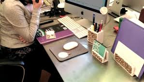 interesting design of frosted glass desk amiable contemporary