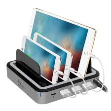 laptop charging station 48w 4 port usb with type c pd laptop charging station new