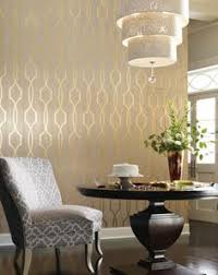 Wallpaper Designs For Dining Room by Darcy Pearl Circular Geometric Modern Wallcovering Takamont