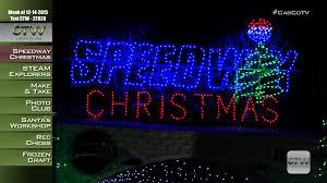 charlotte motor speedway christmas lights 2017 ctw speedway christmas at charlotte motor speedway 12 14 2015 youtube