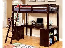 Bunk Beds With Built In Desk Dutton Walnut Built In Desk Workstation Loft Bed Shop