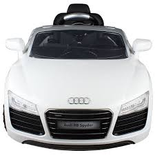 light pink audi amazon com costzon white audi kids 12v electric ride on car with