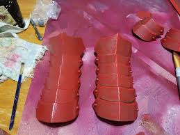 Different Shades Of Red Raven Branwen Wip Mini Tutorial Cosplay Amino