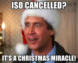 Christmas Miracle Meme - iso cancelled it s a christmas miracle griswold family christmas